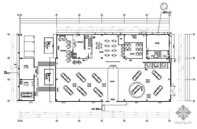 一汽TOYOTA展厅设计图