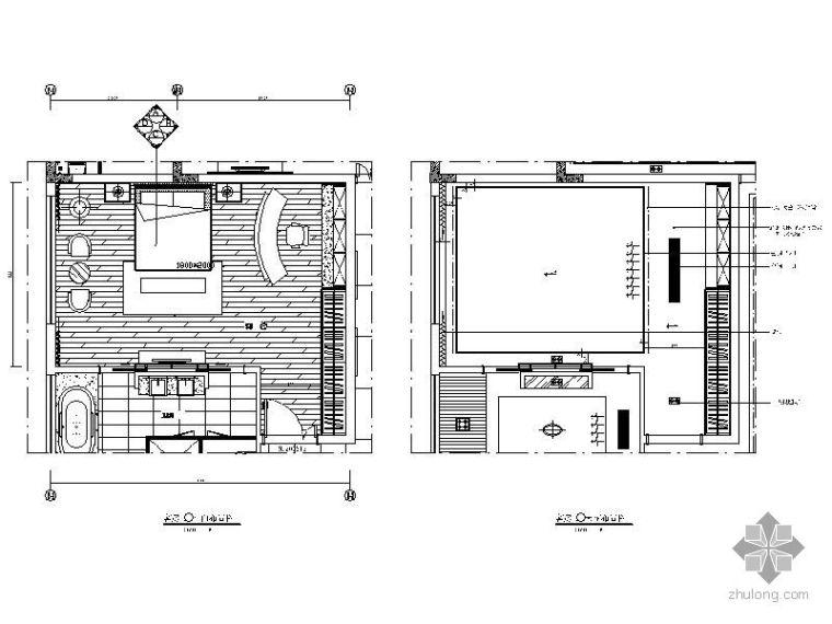 别墅客房立面图Ⅱ