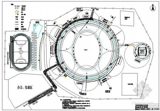 [广东]框支剪力墙结构体育场施工组织设计(220余页)