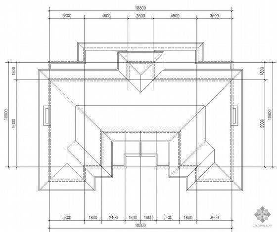 二层复式一梯二户户型图(214/214)