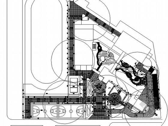 [杭州]某中学校园景观改造设计施工图