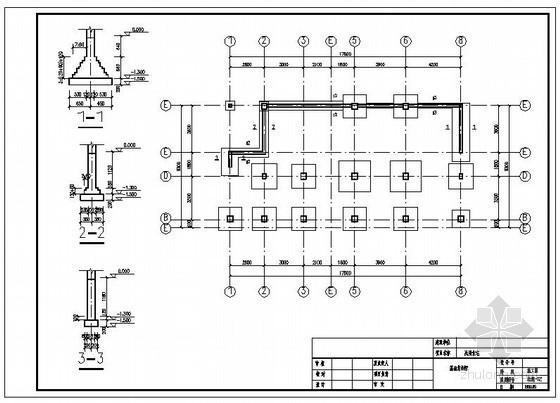 通道某民用住宅结构设计图
