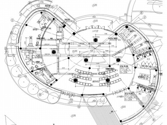 [浙江]景区游客中心工程空调通风系统设计施工图