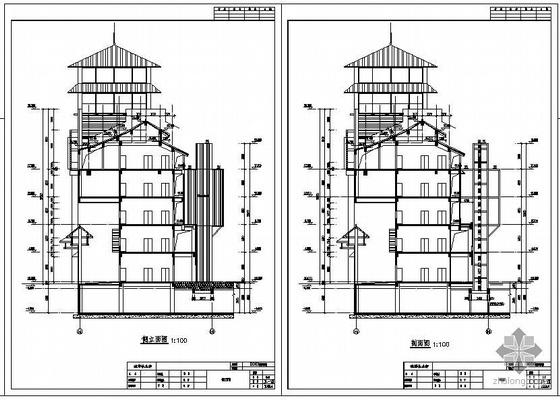 成都某新增室外电梯工程设计图纸