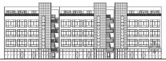 [济南]某四层工业厂房建筑结构电设备施工图