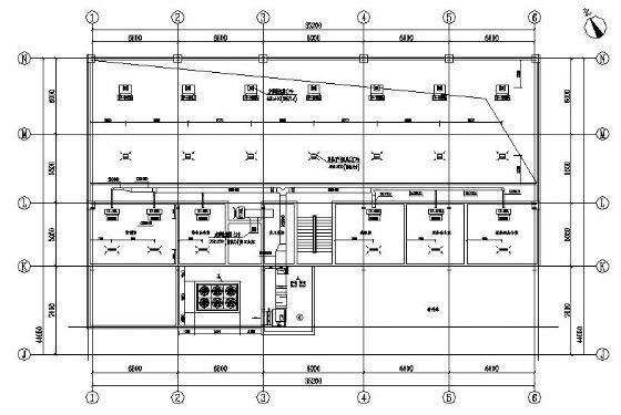 北京某汽车专卖店空调设计图