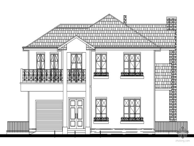 [华堂]某花园住宅小区规划及单体建筑方案设计
