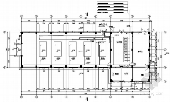 某污水处理厂鼓风机房、配电室电气图纸