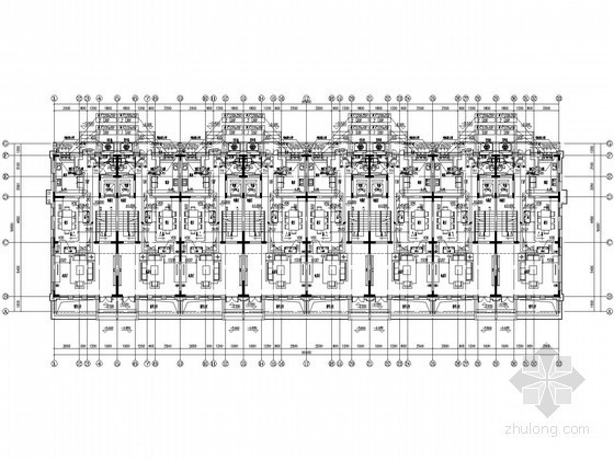 [北京]联排住宅暖通空调设计施工图