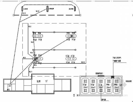 北京某加油站电气施工图