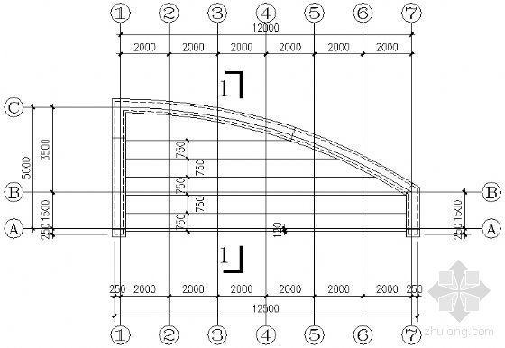 看台建筑结构详图