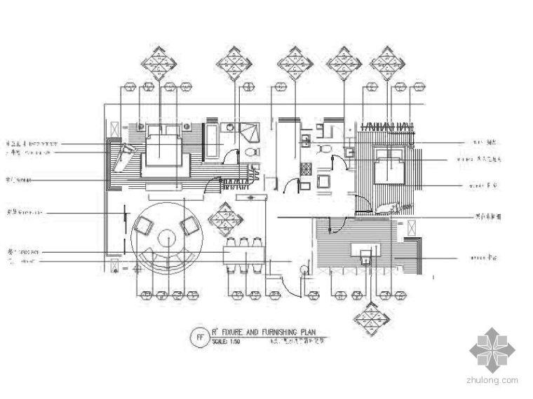 三室二厅样板间装修图(含实景)