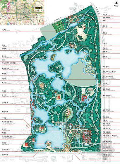 某公园规划设计方案