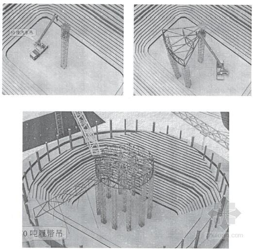 大跨空间钢结构健康监测与施工模拟分析66页(硕士)