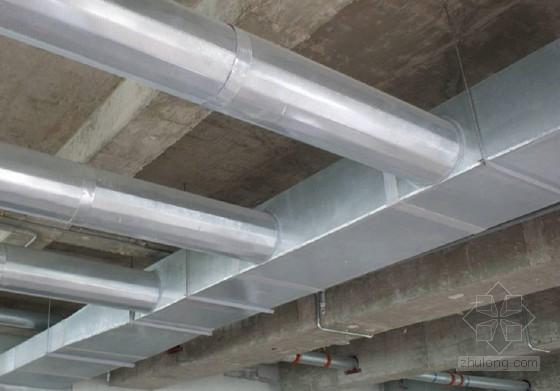 聚氨酯单面铝箔单面镀锌钢板复合风管施工工法