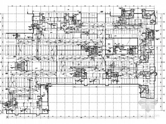 [黑龙江]办公楼地库采暖通风系统设计施工图