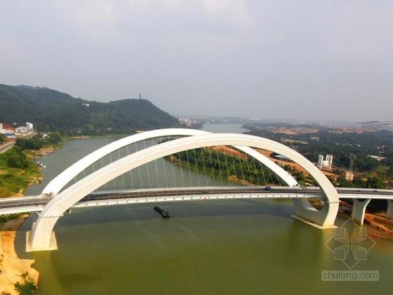 大跨径曲线梁非对称外倾拱桥主墩上部混凝土结构施工技术交底(鲁奖班工程)