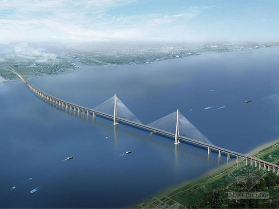 [江苏]创鲁班奖长江大桥工程项目管理策划书171页(主跨千米斜拉桥)