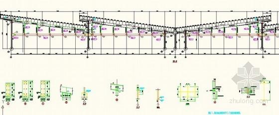 [江苏]2013年新增大棚钢结构工程量清单(详细结构图)