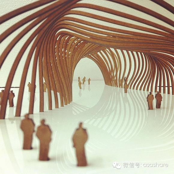 看看国外学生/建筑师的概念模型_8