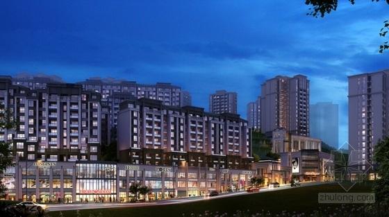 古典风格住宅区规划设计效果图