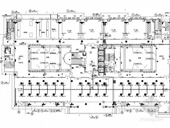 [辽宁]学校园区建筑空调通风防排烟系统设计施工图(风冷模块式涡旋压缩机机组)