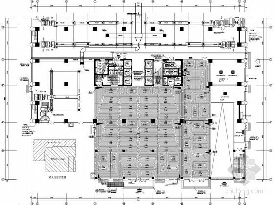 [山东]商业综合广场暖通空调设计全套施工图(详图丰富)