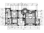 [广东]欧式奢华高档别墅室内设计CAD施工图