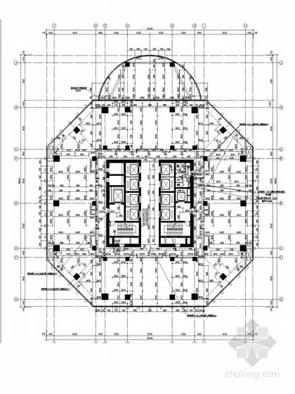 [浙江]标志性综合大楼给排水施工图(160米以上  虹吸雨水系统)