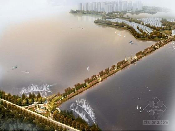 [江西]北欧韵味的湖畔景观大道规划设计方案