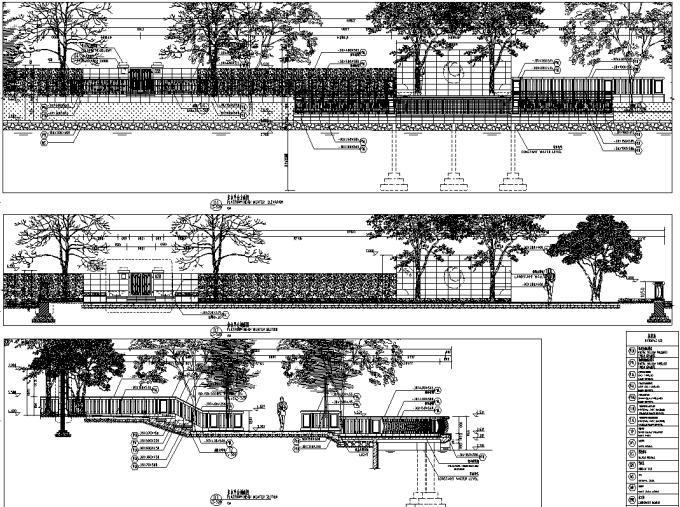 [上海]国际生态水景别墅住宅区景观规划设计全套施工图(含水电+植物+园建)