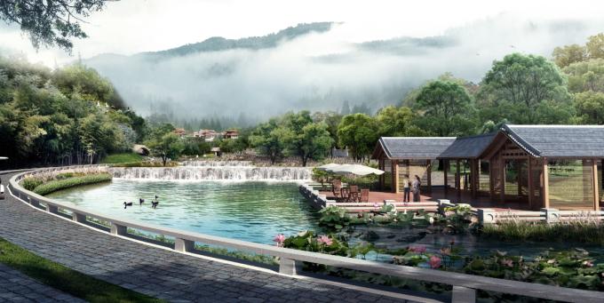[廣東]嶺南佛教禪宗文化生態墓園景觀設計方案