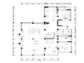 某大型房地产营销中心装修全套施工图(附效果图)