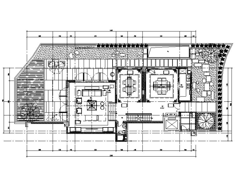 CCD新作--新中式京基别墅设计施工图(附效果图)