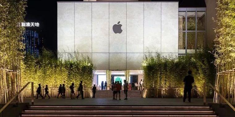 比买iphone手机更重要的,是逛苹果的地标_12
