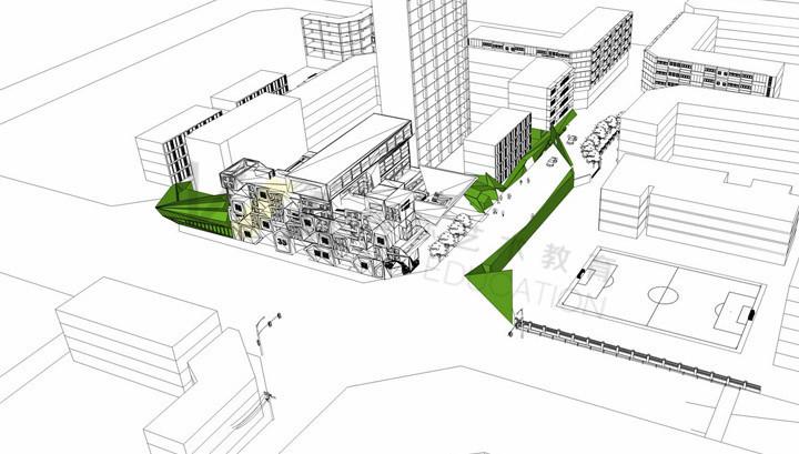英国三所顶尖艺术大学「VA留学建筑设计」两所院校作品集不接受电