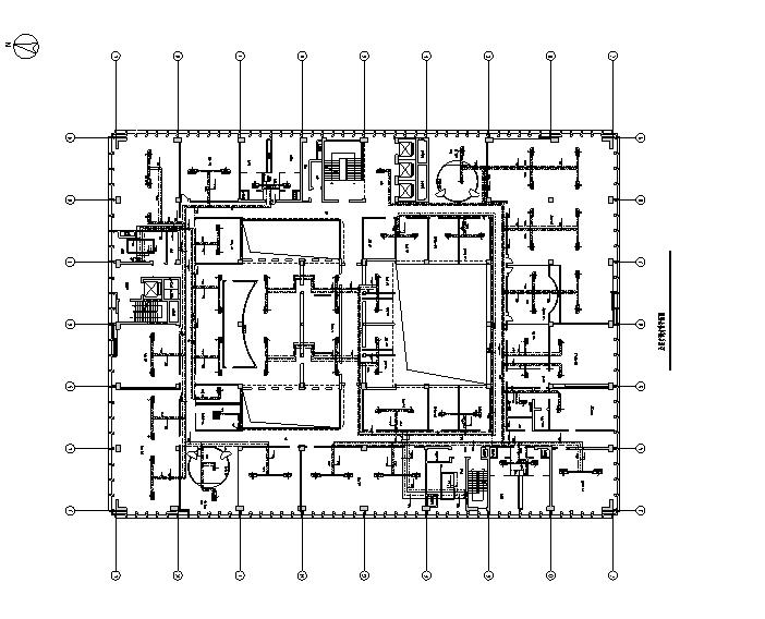 办公综合大楼全套暖通施工图(地源热泵)