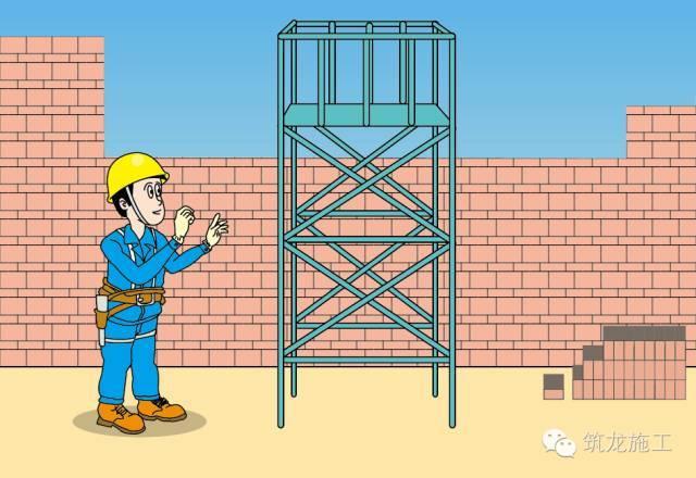 砌筑工安全操作规程漫画解析,这漫画也没谁了!
