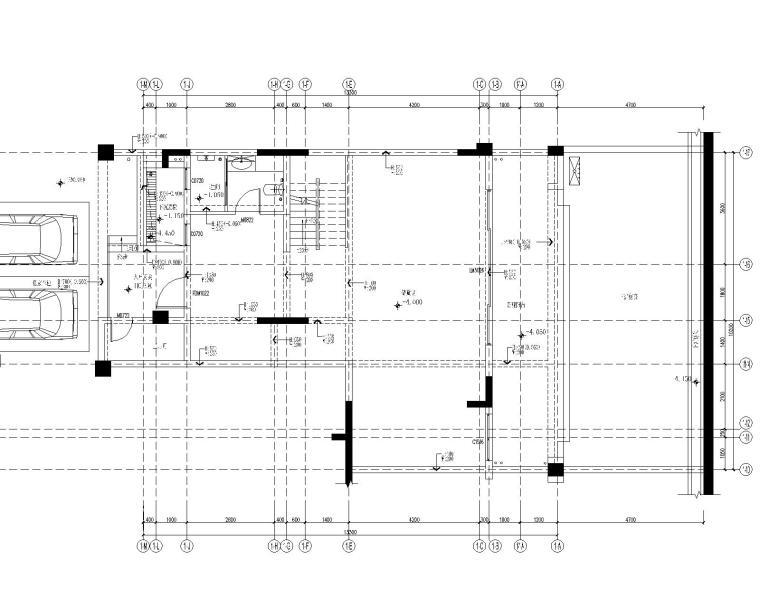 重庆万科悦湾350平复式样板房室内设计CAD施工图+设计方案+效果图