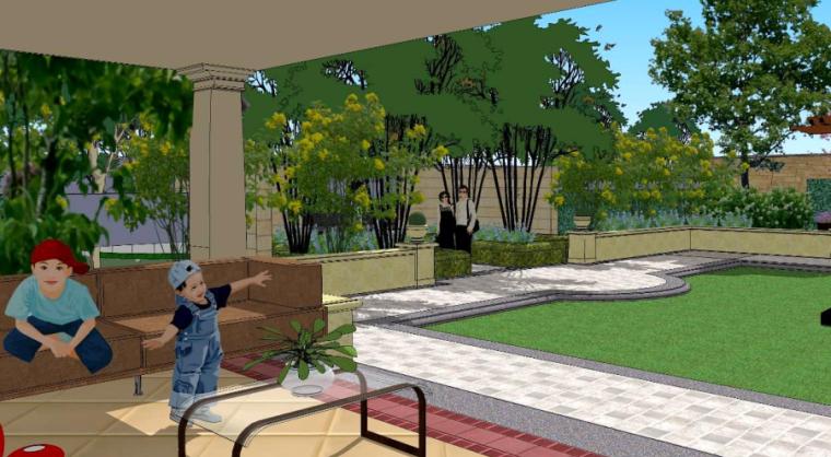 [山东]世界园艺博览会配套酒店景观设计(欧式风格)_4