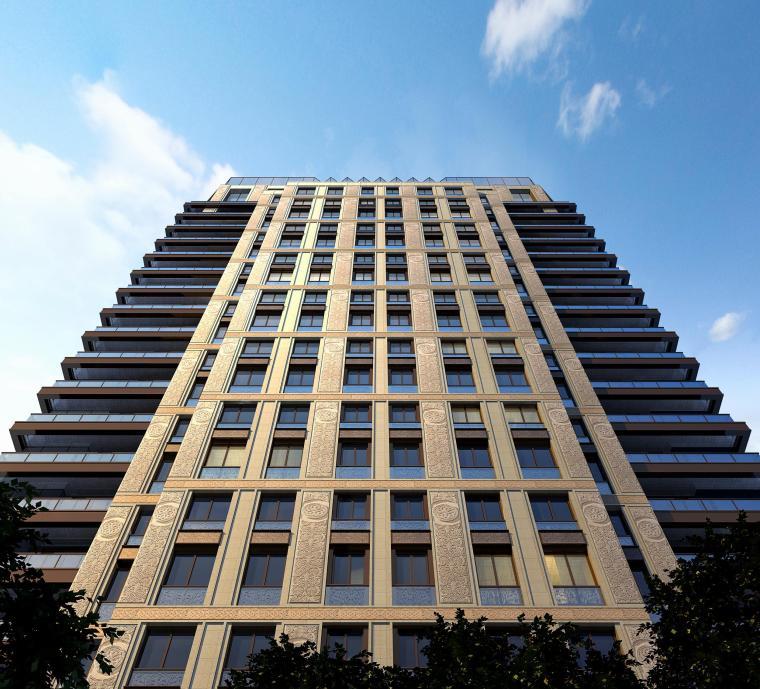 [山海]现代典雅风格杨浦豪宅建筑模型
