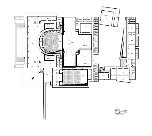 现代风格中山文化艺术中心建筑方案文本
