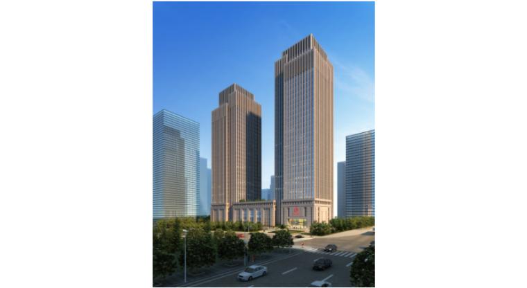 [重庆]新闻传媒中心一期工程塔楼停机坪屋面高支模安全专项施工方案(附相关计算书及CAD图)