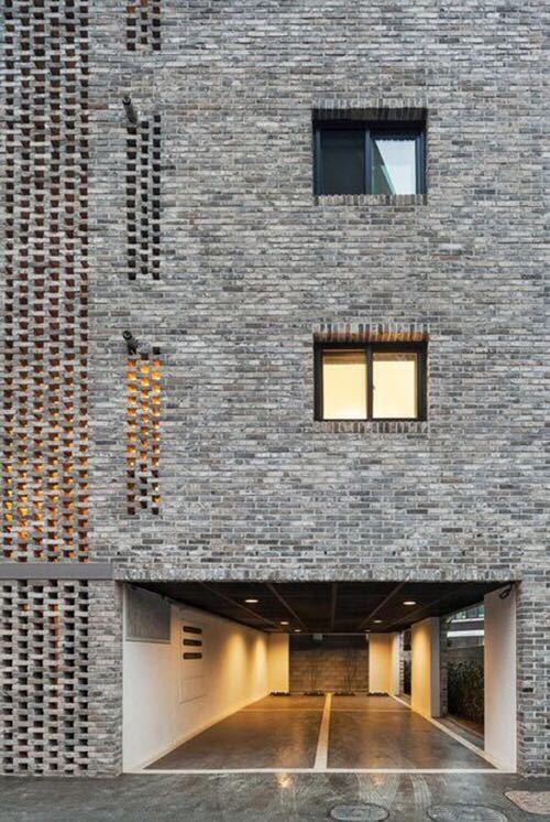 砖的艺术,看看如何把砖赋予艺术性的用在建筑上?_4