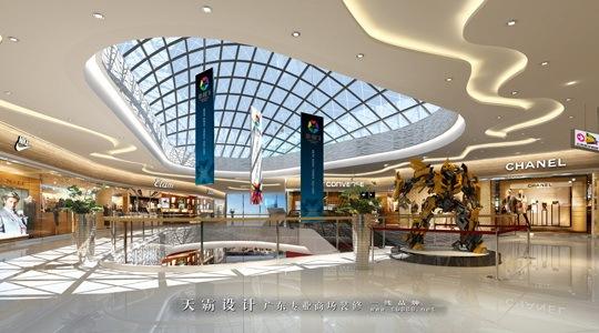 天霸设计公司以全新视野改变秦皇岛百货装修设计不变形象