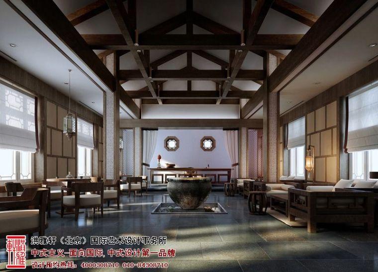 徐州古典中式酒店设计,体现舒适自在的休闲环境_5
