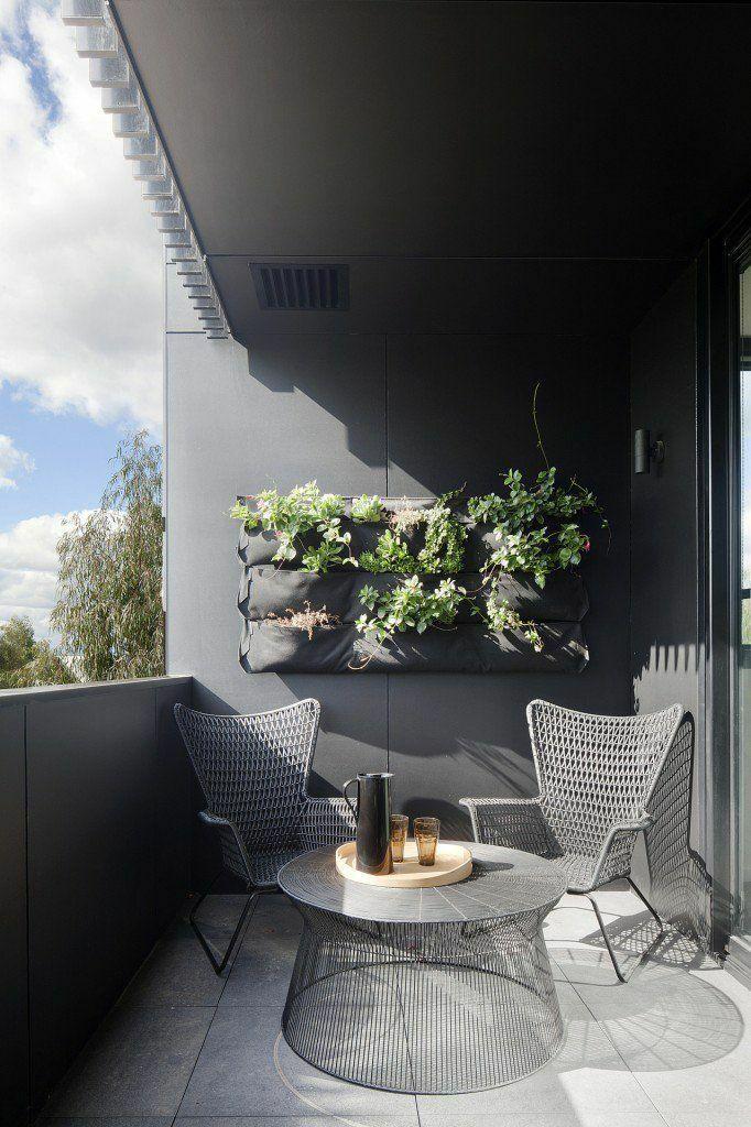 30个开放式阳台花园设计方案_32