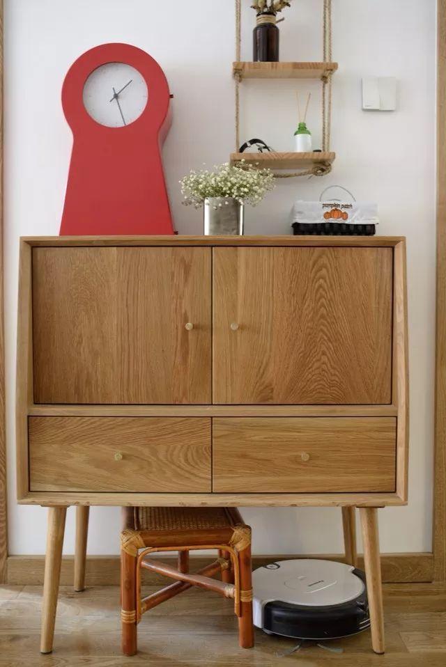 用原木装修家,比看了一万次的样板风格还温馨!_12