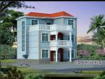 三层独栋别墅建筑设计(包含CAD)