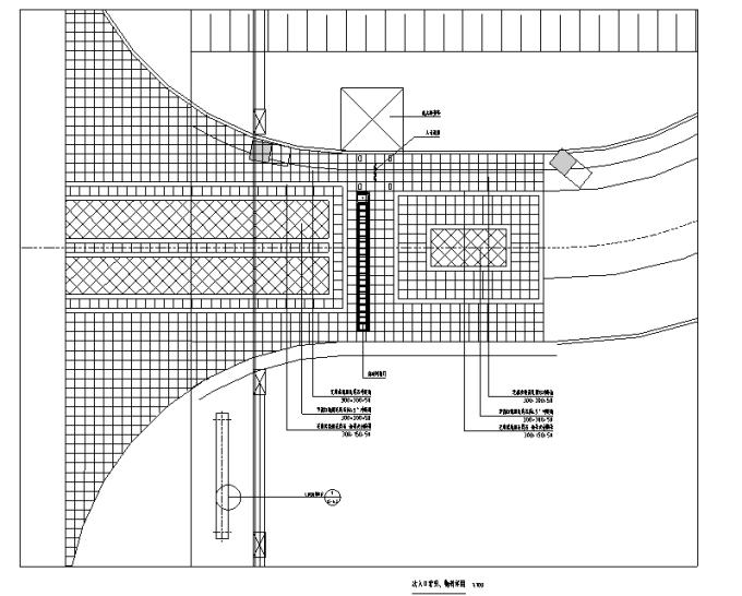 [重庆]生态组团式公租房景观设计全套施工图(园建+绿化+水电)_2